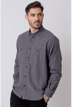 Camisa-Casual-Masculina-Tradicional-Flanela-Grafite-08205-01