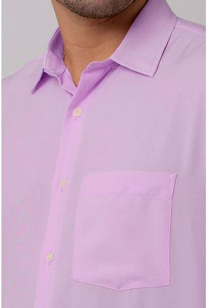 Camisa-Casual-Masculina-Tradicional-Microfibra-Lilas-08395-01