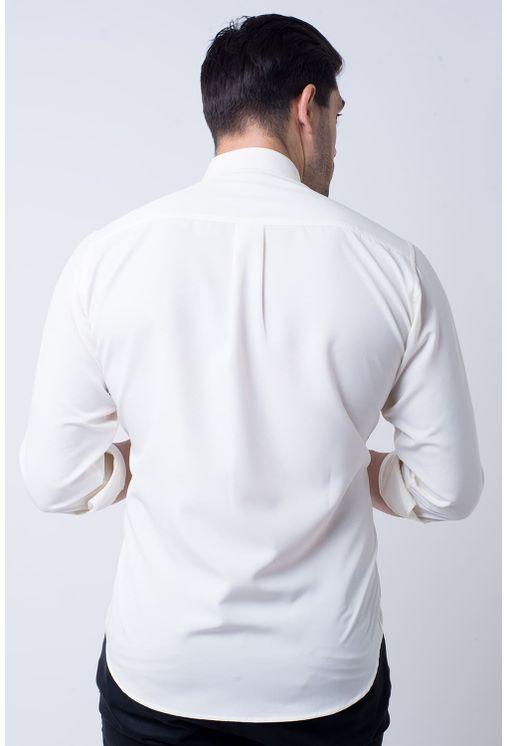 Camisa-Casual-Masculina-Tradicional-Microfibra-Branco-08229-01