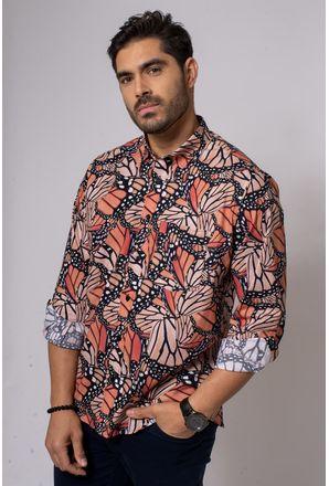 Camisa-Casual-Masculina-Tradicional-Algodao-Fio-40-Preto-08336-02