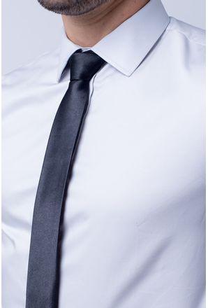Camisa-Slim-Masculina-Slim-Algodao-Fio-80-Cinza-05423-01