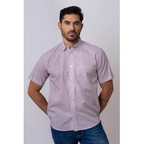 Camisa-Casual-Masculina-Tradicional-Algodao-Fio-50-Vermelho-05336-01