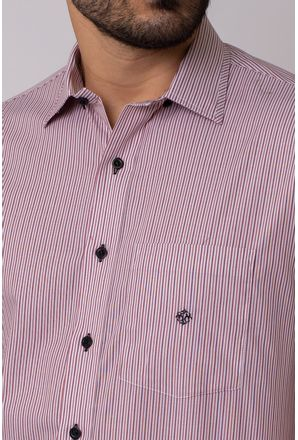 Camisa-Casual-Masculina-Tradicional-Algodao-Fio-50-Vermelho-05337-01