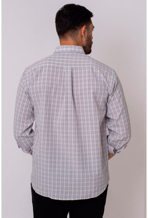 Camisa-Casual-Masculina-Tradicional-Microfibra-Branco-07965-01
