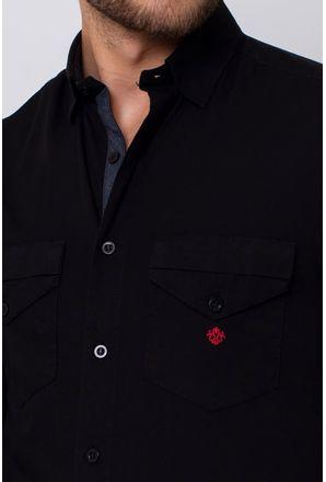 Camisa-Slim-Masculina-Slim-Algodao-Fio-40-Preto-03442-01