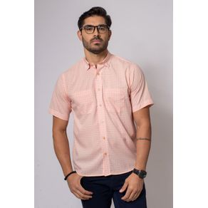 Camisa-Casual-Masculina-Tradicional-Microfibra-Salmao-08032-01