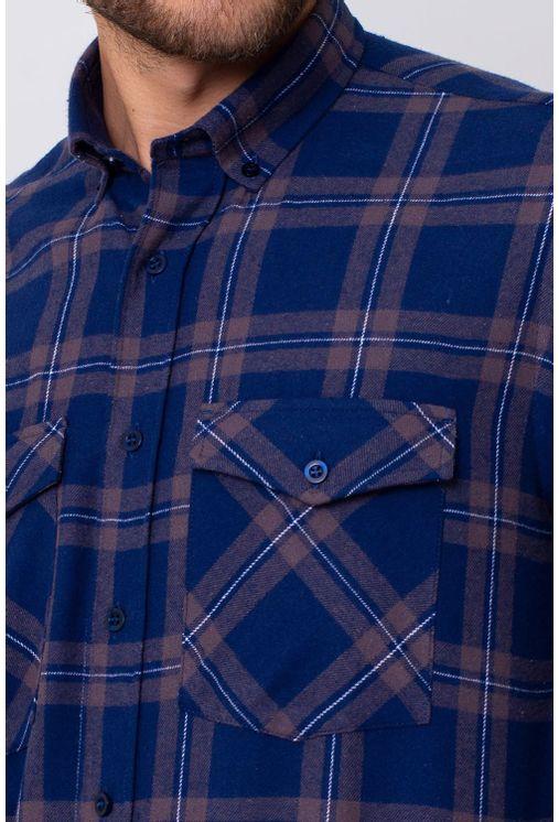 Camisa-Casual-Masculina-Tradicional-Flanela-Azul-08390-01