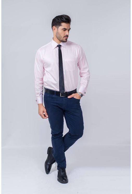 Camisa-Social-Masculina-Tradicional-Algodao-Fio-80-Rosa-08393-01