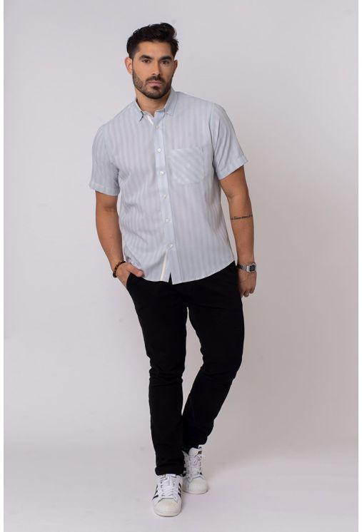 Camisa-Casual-Masculina-Tradicional-Microfibra-Cinza-08036-01