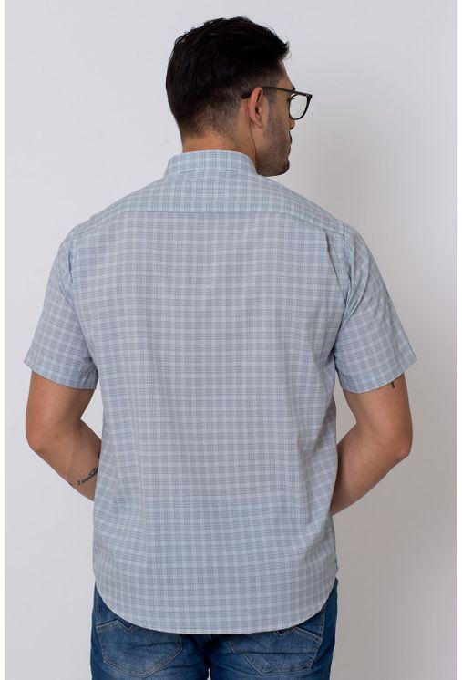 Camisa-Casual-Masculina-Tradicional-Microfibra-Cinza-08027-01