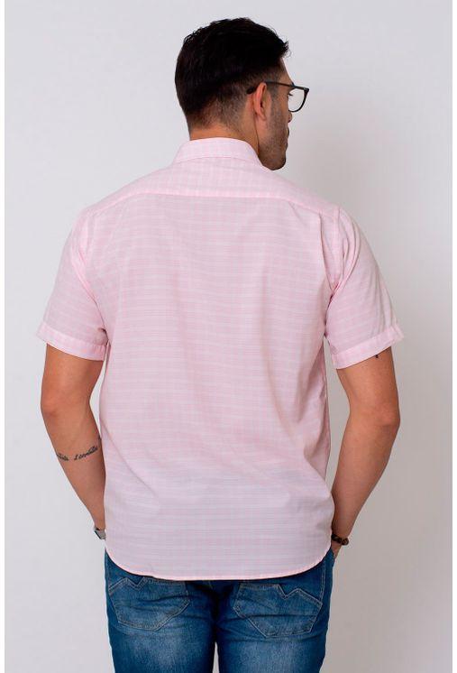 Camisa-Casual-Masculina-Tradicional-Microfibra-Rosa-08027-01