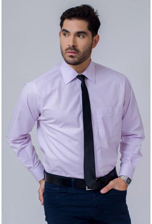 Camisa-Social-Masculina-Tradicional-Algodao-Fio-40-Lilas-02225-02