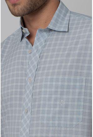 Camisa-Casual-Masculina-Tradicional-Microfibra-Cinza-08028-06