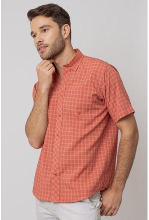 Camisa-Casual-Masculina-Tradicional-Microfibra-Salmao-08028-02
