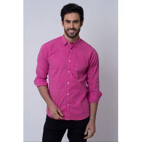 Camisa-Casual-Masculina-Tradicional-Tencel-Rosa-08352-01