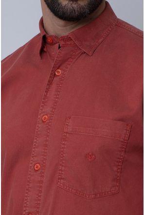 Camisa-Casual-Masculina-Tradicional-Tencel-Bordo-08352-02
