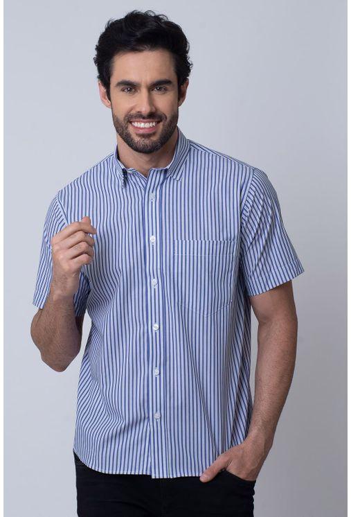 Camisa-Casual-Masculina-Tradicional-Algodao-Fio-50-Azul-04339-02