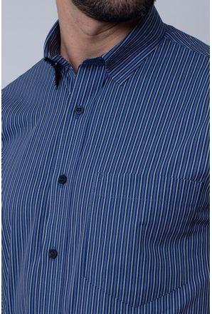 Camisa-Casual-Masculina-Tradicional-Algodao-Fio-50-Azul-05201-05