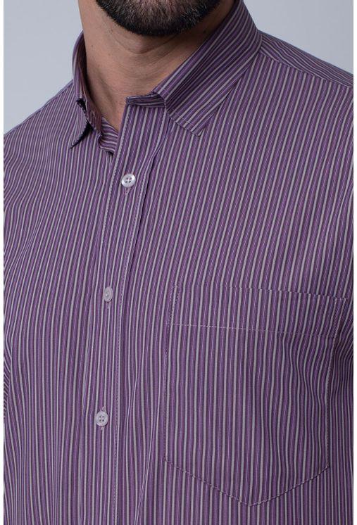 Camisa-Casual-Masculina-Tradicional-Algodao-Fio-50-Azul-05201-04