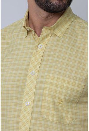 Camisa-Casual-Masculina-Tradicional-Microfibra-Creme-08026-01