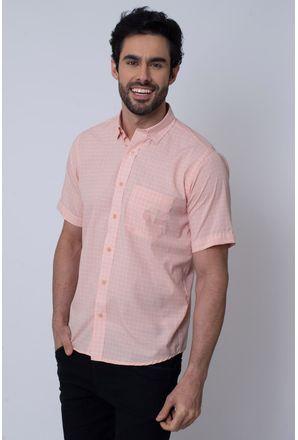 Camisa-Casual-Masculina-Tradicional-Microfibra-Salmao-08031-01