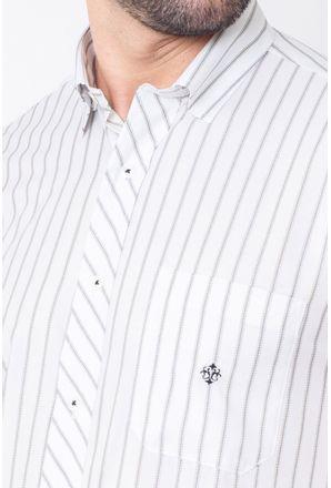 Camisa-Casual-Masculina-Tradicional-Microfibra-Cinza-08023-01