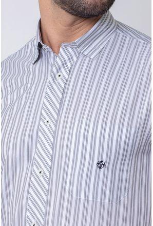 Camisa-Casual-Masculina-Tradicional-Microfibra-Cinza-08024-02