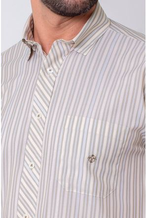 Camisa-Casual-Masculina-Tradicional-Microfibra-Creme-08024-02