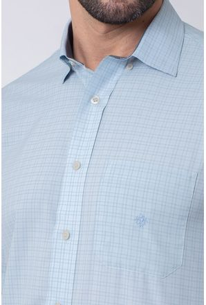 Camisa-Casual-Masculina-Tradicional-Microfibra-Branco-08031-01