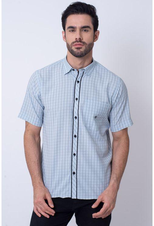 Camisa-Casual-Masculina-Tradicional-Microfibra-Branco-08034-01