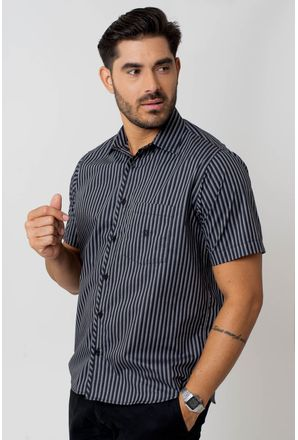 Camisa-Casual-Masculina-Tradicional-Algodao-Fio-50-Preto-05254-01