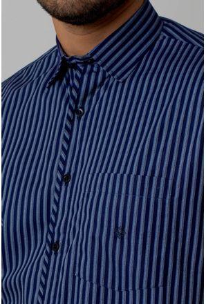 Camisa-Casual-Masculina-Tradicional-Algodao-Fio-50-Azul-05254-02