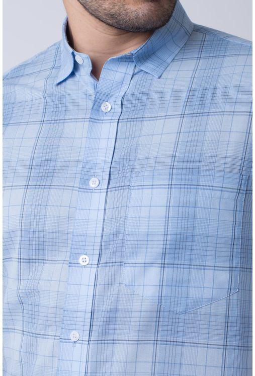 Camisa-Casual-Masculina-Tradicional-Algodao-Fio-40-Azul-Claro-07347-02