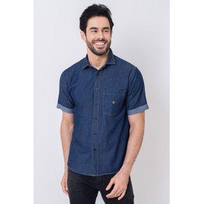 Camisa-Casual-Masculina-Tradicional-Jeans-Azul-Escuro-05648-01