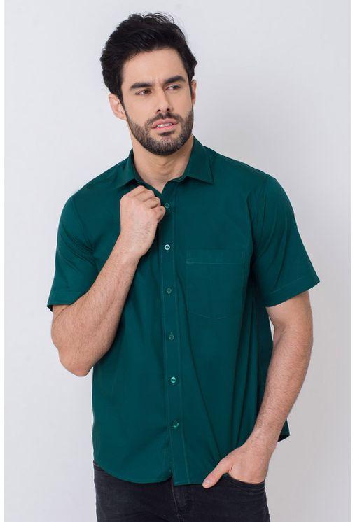 Camisa-Casual-Masculina-Tradicional-Algodao-Fio-40-Verde-07970-02