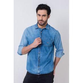 Camisa-Casual-Masculina-Tradicional-Jeans-Azul-Escuro-08513-01