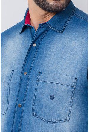 Camisa-Casual-Masculina-Tradicional-Jeans-Azul-Escuro-08516-01