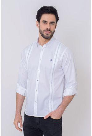 Camisa-Casual-Masculina-Tradicional-Algodao-Fio-50-Branco-08602-01